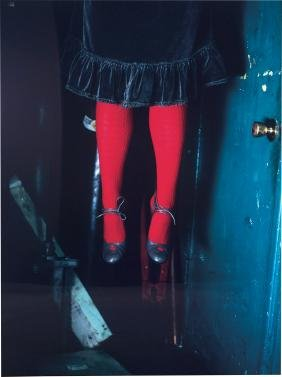 Melanie Pullen: Red Stockings (from High Fashion Crime