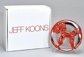 Jeff Koons: Balloon Dog (Red)