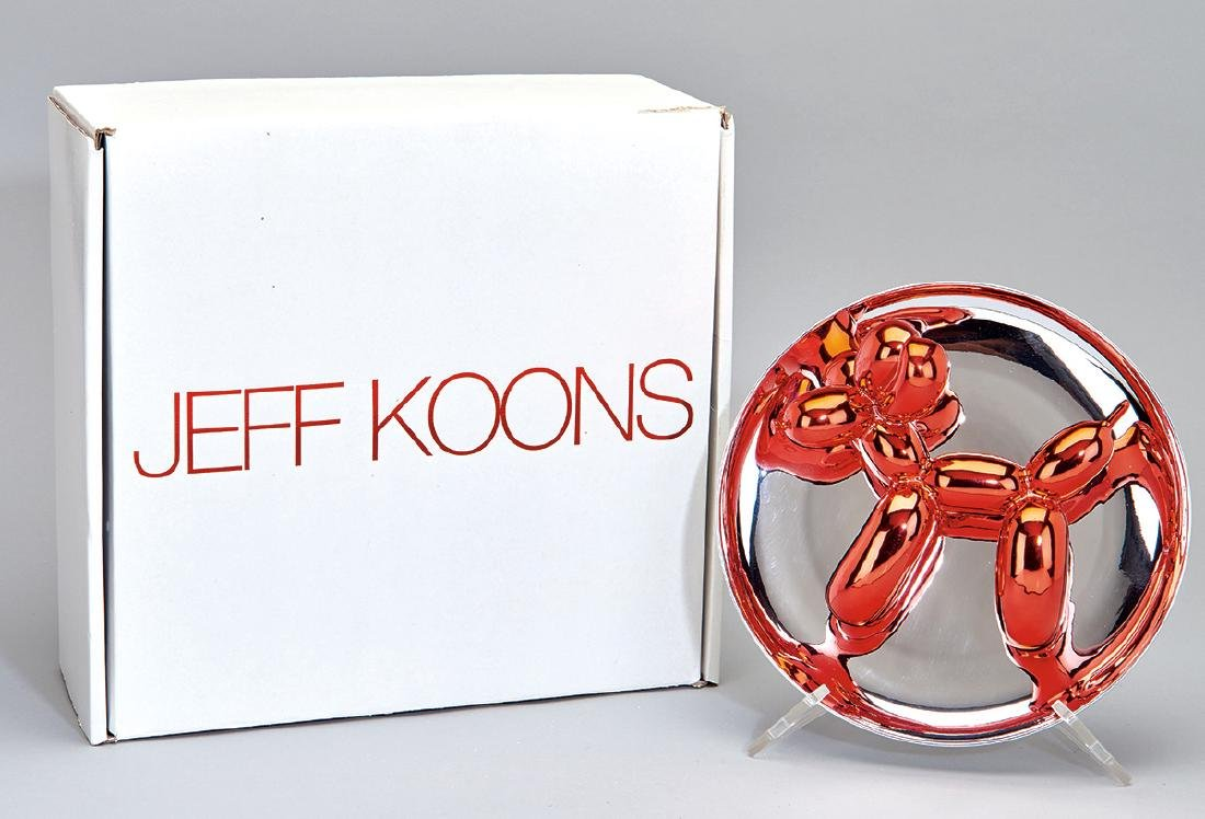 Jeff Koons: Balloon Dog (Red)