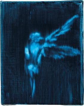 Ross Bleckner: Untitled (Bird)