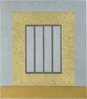 Peter Halley: Golden Prison
