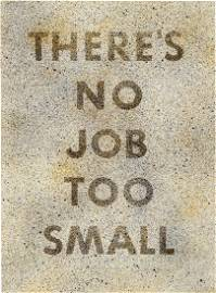 Ed Ruscha: There's No Job Too Small