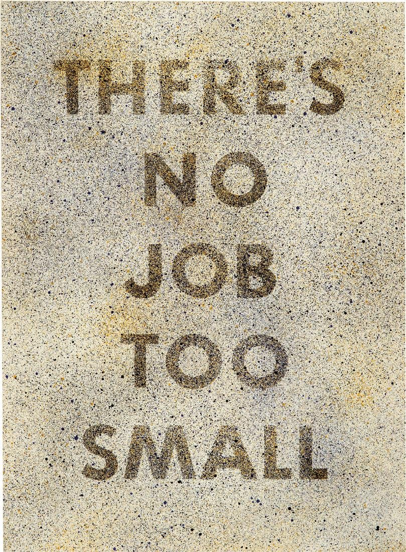 Ed Ruscha: There's No Job Too Small