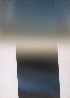 Larry Bell: Untitled (Vapor Drawing)