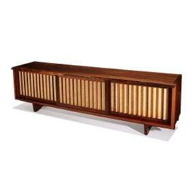 George Nakashima: Triple sliding door room divider