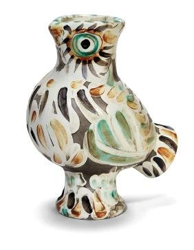 Pablo  Picasso: Wood-owl