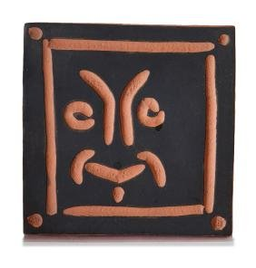 Pablo Picasso: Laughing mask
