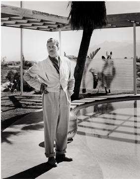 Julius Shulman: Portrait of Raymond Loewy