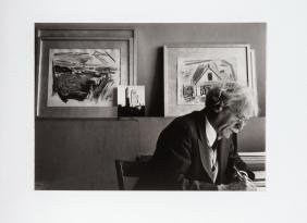 Dorothy Norman: Alfred Stieglitz at an American Place