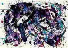Sam Francis: Untitled (SF83-120)