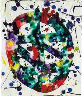 Sam Francis: Untitled (Self-Portrait) (SF78-322)