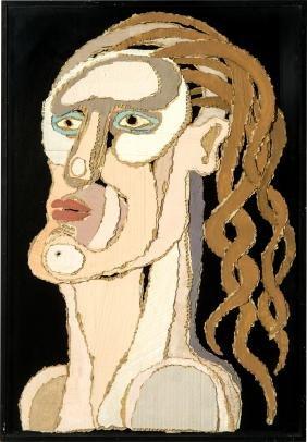 Kosta Alex: Lady with Long Wavy Hair
