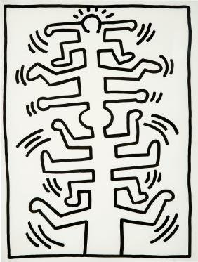 Keith Haring: Untitled #3