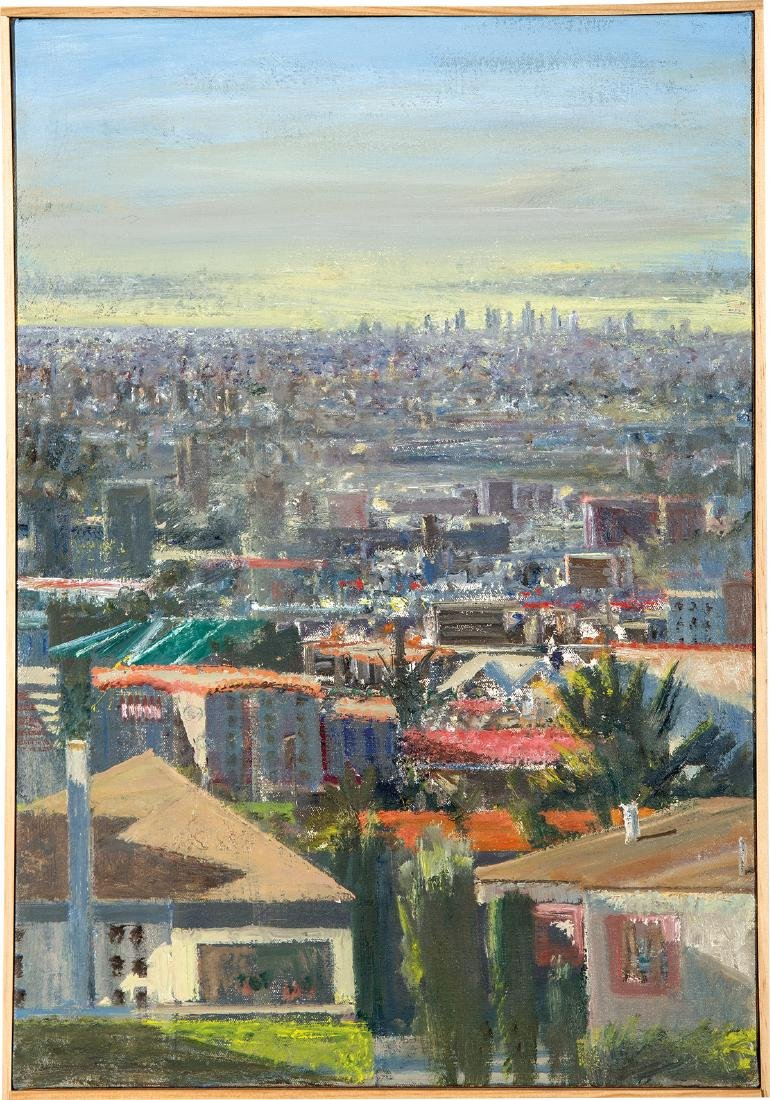 Larry Cohen: View of Downtown LA from Taft and Franklin