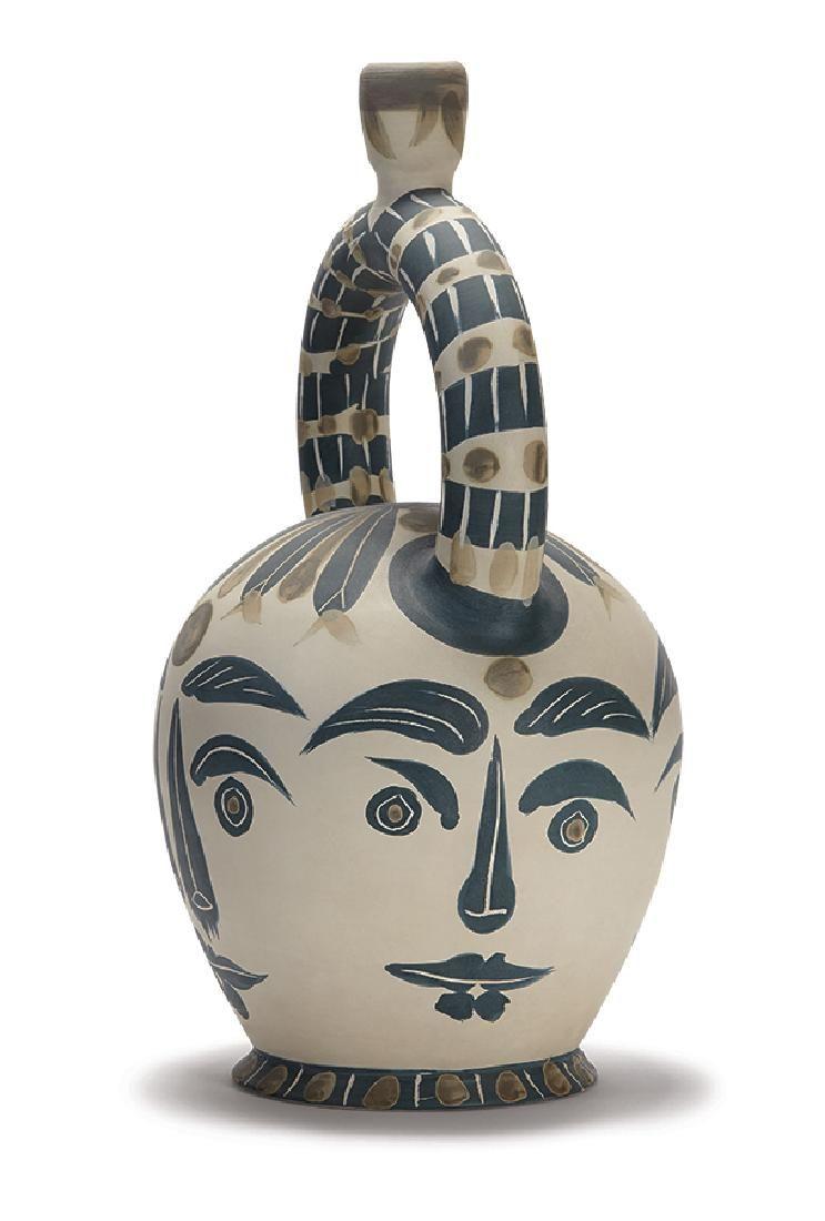 Pablo Picasso: Aztec vase with four faces