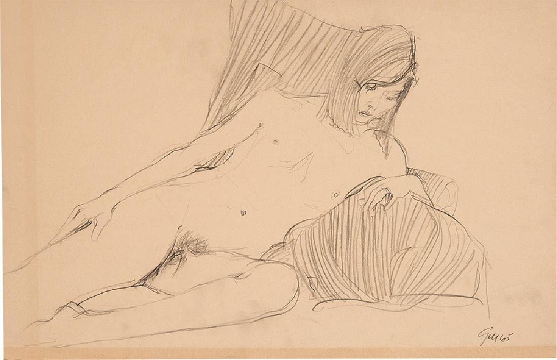 James Gill: Suite of drawings (5) - 5
