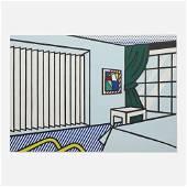 Roy Lichtenstein, Bedroom (from Interior Series)