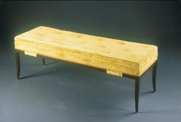 6: Tommi Parzinger Upholstered bench Custom