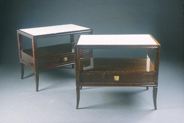 7: Tommi Parzinger Side tables (2) Custom