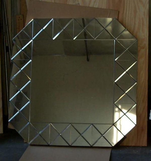 8: Tommi Parzinger  bevel cut mirror
