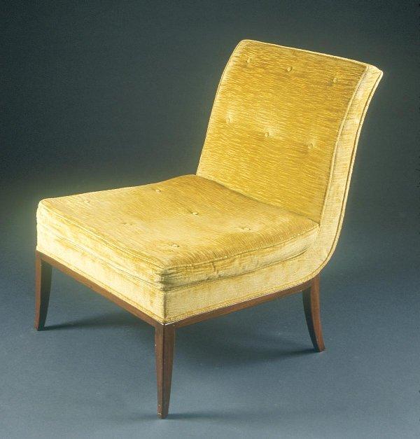 9: Tommi Parzinger  Slipper chairs (2) Custom