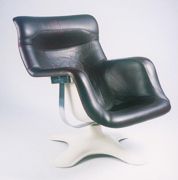 "10: Yrjo Kukkapuro  ""Karuselli"" Lounge Chair"