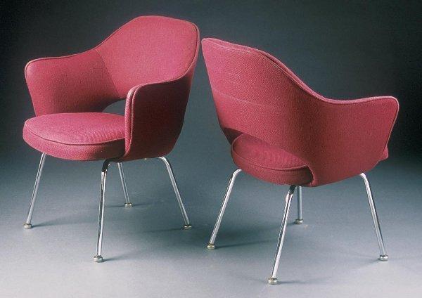 18: Eero Saarinen  Dining Chairs (4) Knoll