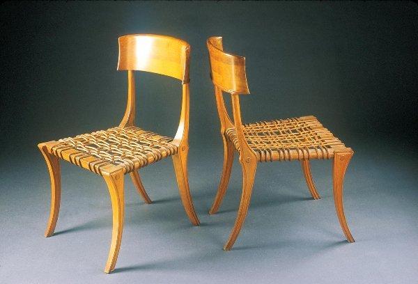 192: T.H. Robsjohn-Gibbings Chairs 2 Saridis