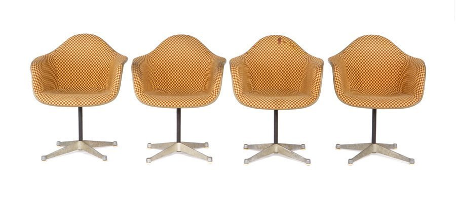 Charles & Ray Eames, Armchairs (8)