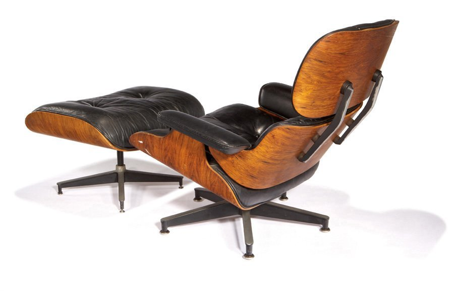 Charles & Ray Eames, Lounge chair and ottoman