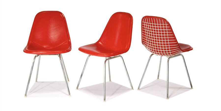 Charles & Ray Eames, Side chairs (3)