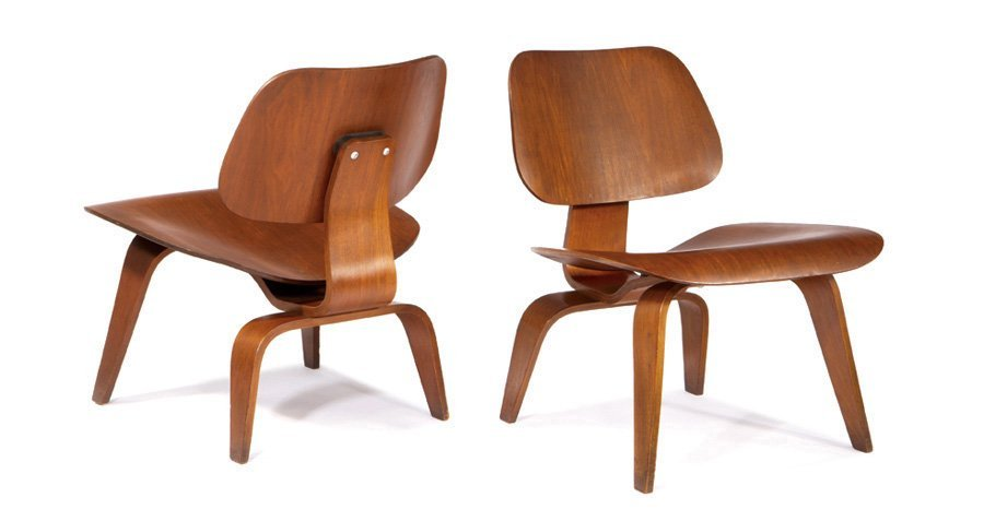 Charles & Ray Eames, Lounge chairs (2)