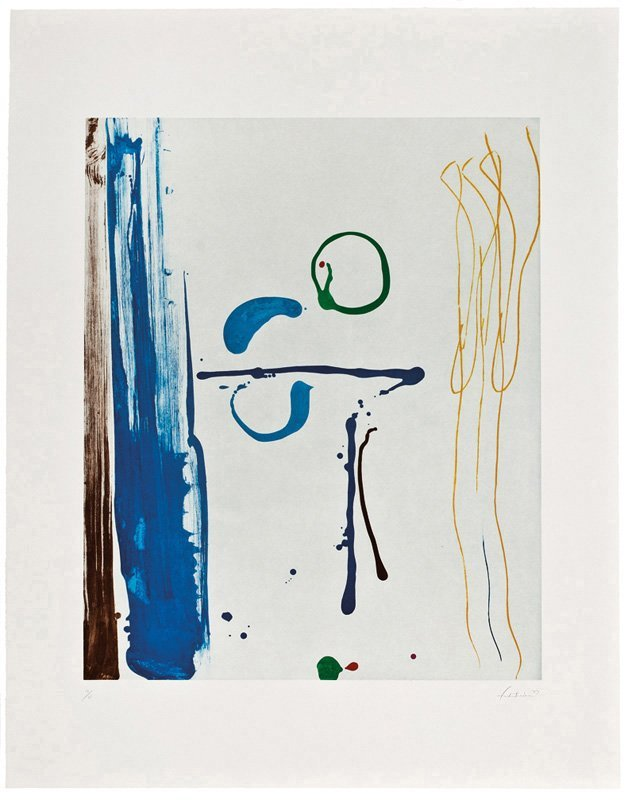 Helen Frankenthaler, Sunshine After Rain