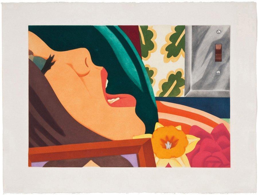 Tom Wesselmann, Bedroom Face