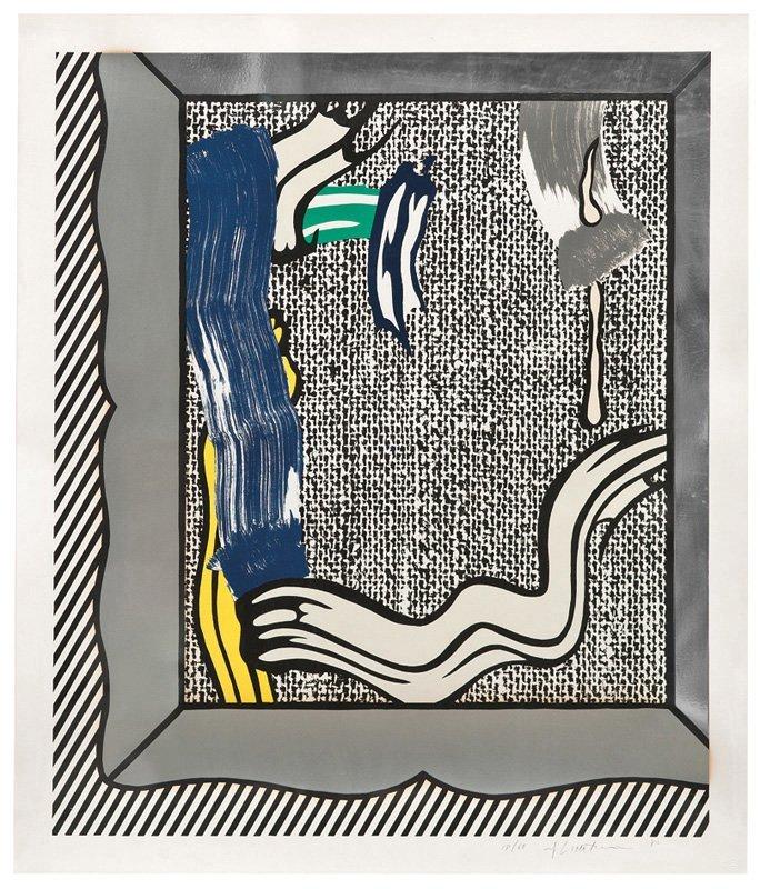 Roy Lichtenstein, Painting on Canvas
