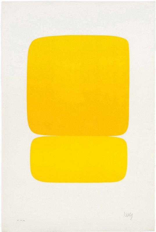 Ellsworth Kelly, Yellow over Yellow