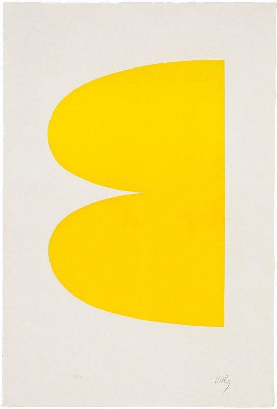 Ellsworth Kelly, Yellow (II.2)