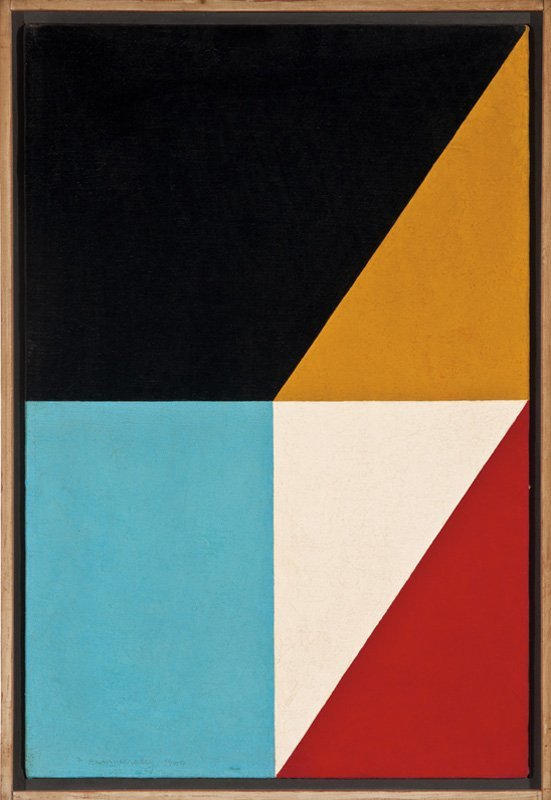 Frederick Hammersley, Fractions #17