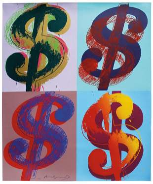 Andy Warhol, $ (Quadrant)