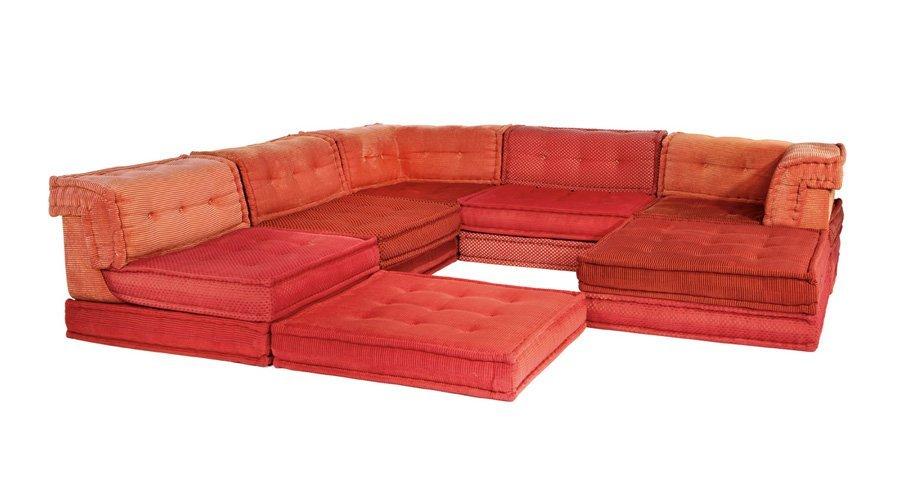 Hans Hopfer Mah Jong Modular Sofa 6