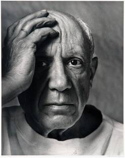Arnold Newman, Pablo Picasso, Vallauris, 1954