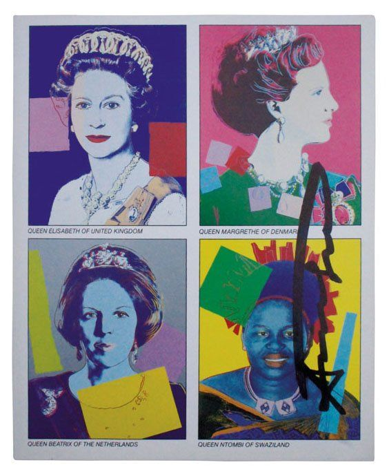 Andy Warhol, Reigning Queens (Invitation)