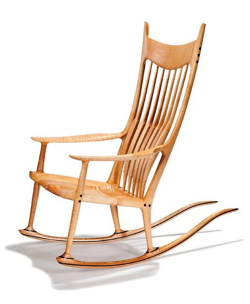 Fabulous Sam Maloof Rocking Chair Ibusinesslaw Wood Chair Design Ideas Ibusinesslaworg
