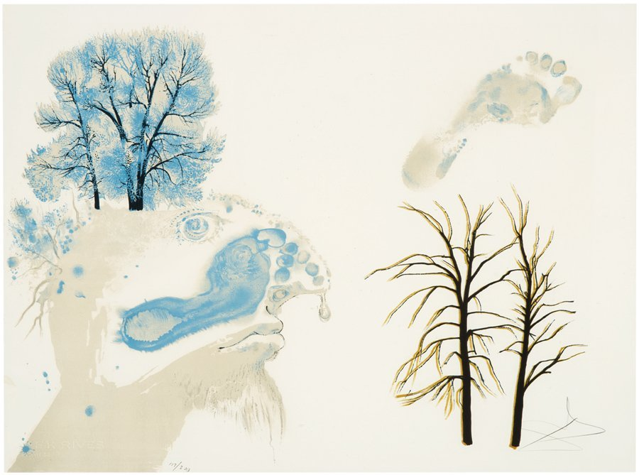 Salvador Dali, The Four Seasons Suite - 2