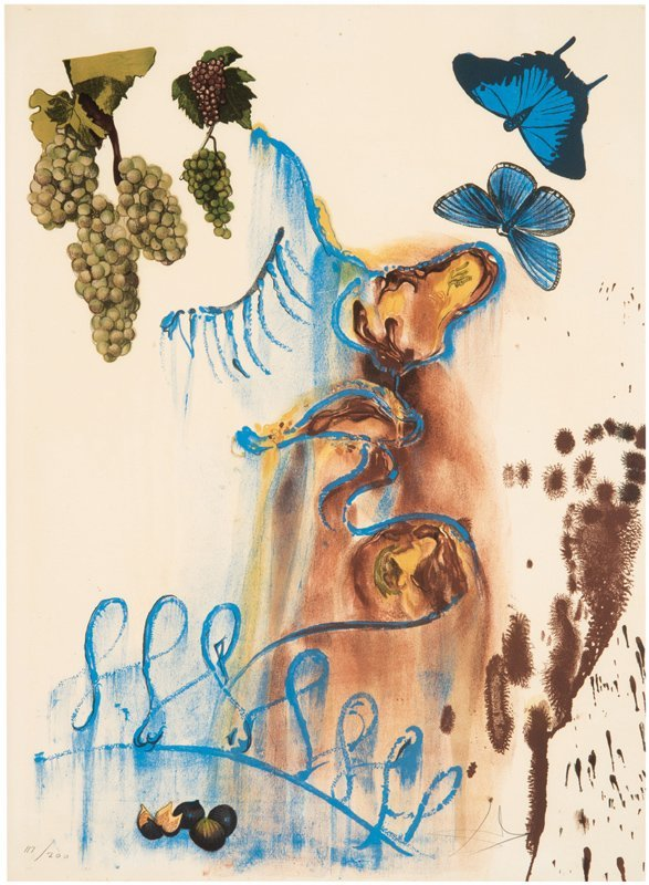 Salvador Dali, The Four Seasons Suite - 3