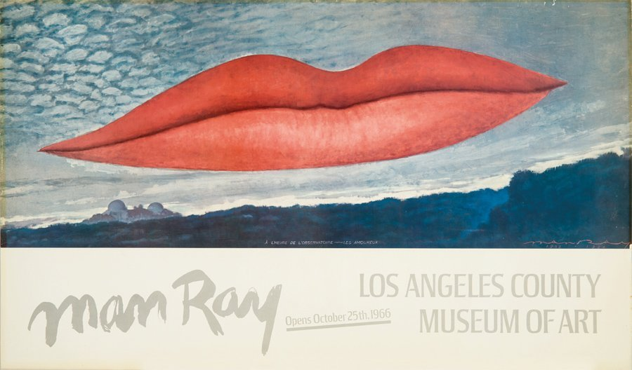 Man Ray, LACMA exhibition poster