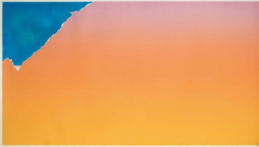 Joe Goode, Untitled (triptych)