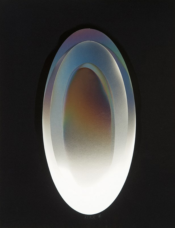 Larry Bell, Untitled (Vapor Drawing)