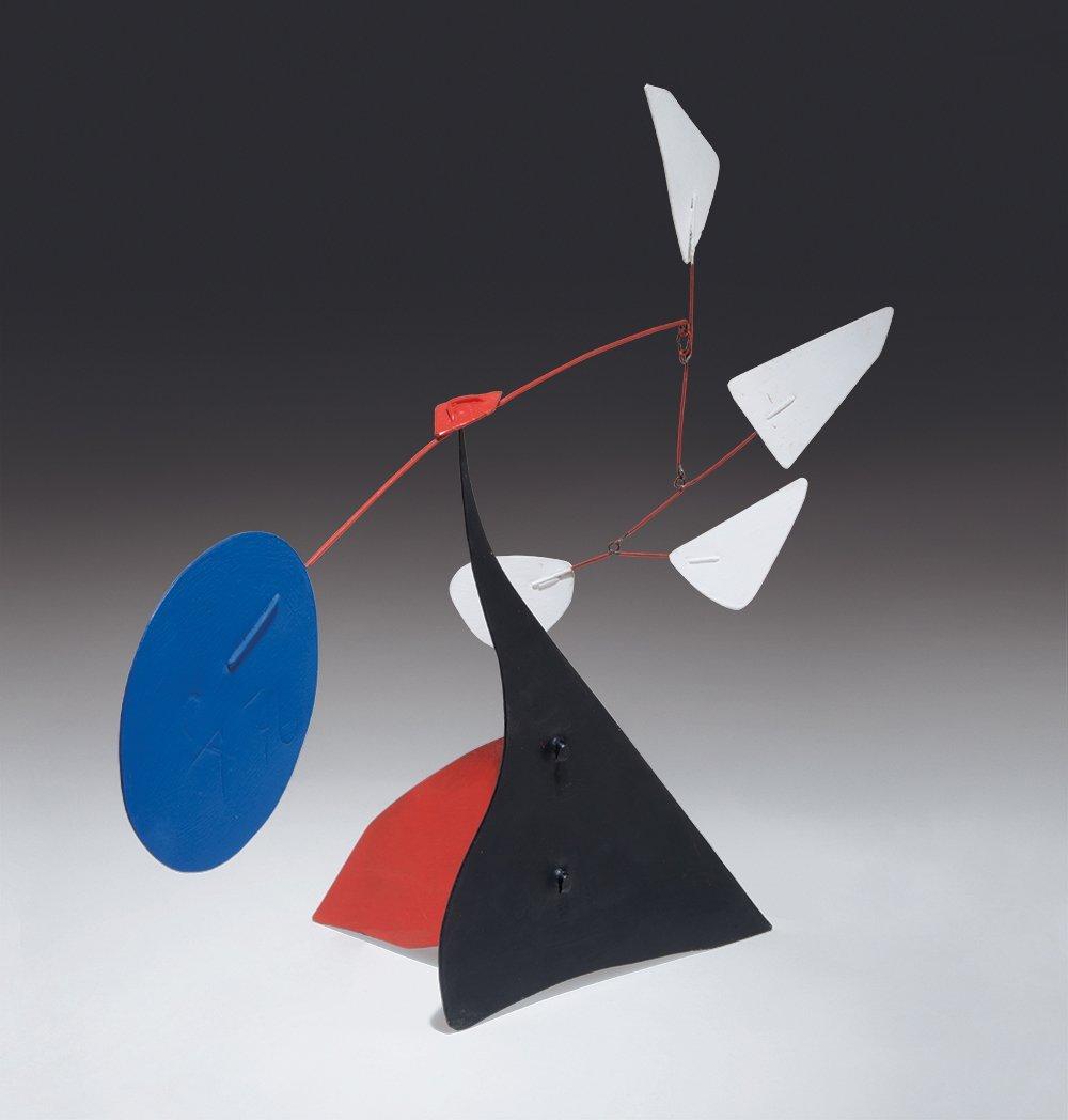 Alexander Calder, Quatre Blancs
