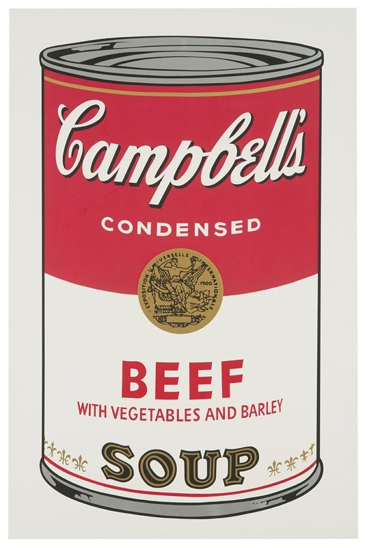 Andy Warhol, Campbell's Soup I